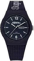 Superdry 'Urban' Quartz Plastic and Silicone Casual Watch