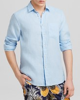 Vilebrequin Linen Button Down Shirt - Regular Fit