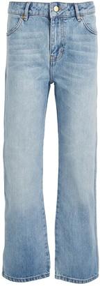 Victoria Victoria Beckham Victoria, Victoria Beckham Cali High-Rise Straight-Leg Jeans