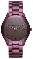 MICHAEL Michael Kors 'Slim Runway' Bracelet Watch, 42mm