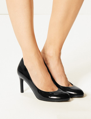 Marks and Spencer Stiletto Heel Almond Toe Court Shoes