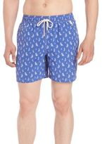 Polo Ralph Lauren Travel Sailboat Swim Trunks
