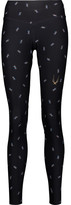 Lucas Hugh Spark printed stretch-jersey leggings