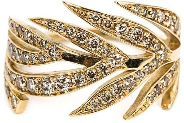 Marc Alary diamond leaf ring