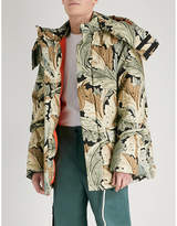 Loewe X William Morris Acanthus-print Cotton Parka Jacket
