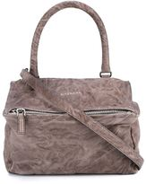 Givenchy Small Leather Pandora Bag - women - Cotton/Sheep Skin/Shearling - One Size