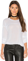Splendid Heathered Long Sleeve Crew Neck Tee