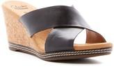 Clarks Helio Swan Platform Wedge Sandal