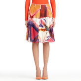 Rachel Roy Printed Skirt