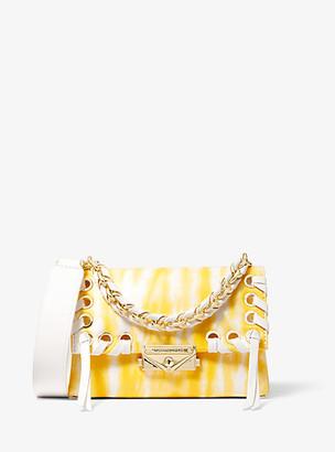 Michael Kors Cece Extra-Small Tie Dye Leather Crossbody Bag