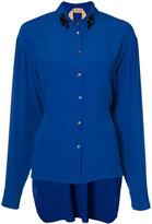 No.21 embellished collar shirt - women - Silk/Acetate - 44