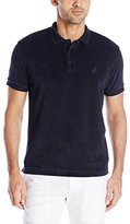 Nautica Men's Slim Fit Solid Terry Polo Shirt