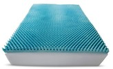"Simmons Loft from 3"" Gel Textured Memory Foam Topper"
