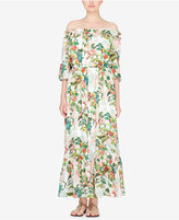 Catherine Malandrino Off-The-Shoulder Maxi Dress