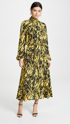 No.21 Graphic Print Dress