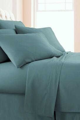 SouthShore Fine Linens King Sized Vilano Springs Extra Deep Pocket Sheet Set - Steel Blue