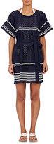 Lisa Marie Fernandez Women's Fiesta Cotton Cover-Up Dress-Navy