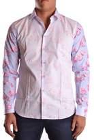 Givenchy Men's Pink Cotton Shirt.