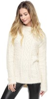 Juicy Couture Slinky Mix Cable Pullover