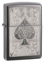 Zippo Black Ice Outdoor Indoor Windproof Lighter Free Custom Personalized Engraved Message Permanent Lifetime Engraving on Backside