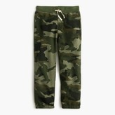 J.Crew Boys' camo sweapant in classic fit