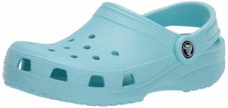 Crocs Classic Clog|Comfortable Slip On Shoe|Casual Water Shoe Ice Blue 12 US Women / 10 US Men