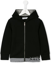 John Galliano zipped hoodie - kids - Cotton - 6 yrs