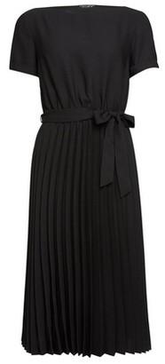 Dorothy Perkins Womens Black Turn Back Pleat Dress, Black