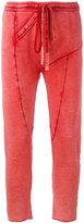 Lost & Found Ria Dunn - drawstring track pants - women - Cotton/Linen/Flax/Spandex/Elastane - XS