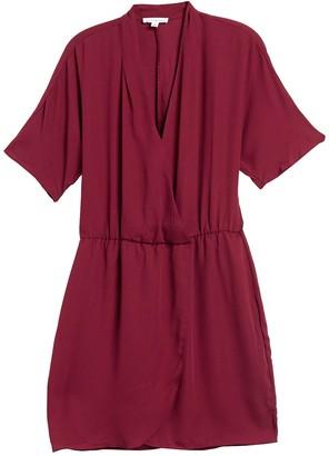 Socialite Dolman Sleeve Tulip Hem Dress