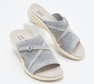 Earth Origins Sport Slide Sandals - Saru Cassidy
