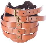 Celine Leather Multistrap Waist Belt