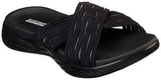 Skechers Womens Footbed Sandals