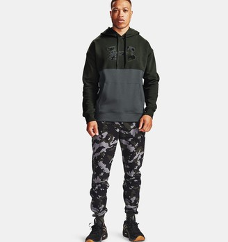 Under Armour Men's UA Rival Fleece Camo Joggers