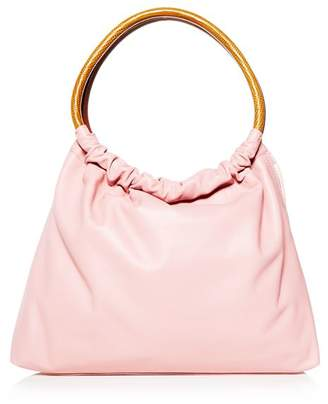 Little Liffner Small Double Ring Leather Tote