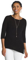 Chico's Glenda Asymmetrical Sweater