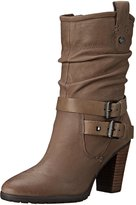 Marc Fisher Famous Women US 8.5 Brown Mid Calf Boot