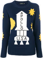 Coach rocket intarsia jumper