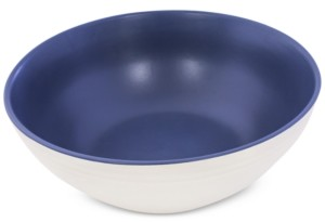 Thirstystone Dark Blue Ceramic Serving Bowl