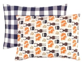 Hudson Baby Baby Girls and Boys Forest Cotton Toddler Pillow Case