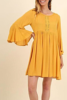 Umgee USA Bell Sleeve Dress