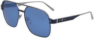 MCM Men's Navigator Sunglasses With Diamond Pattern