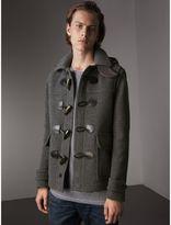 Burberry Wool Duffle Jacket with Detachable Hood