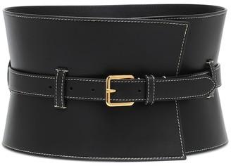 Altuzarra Exclusive to Mytheresa Obie leather corset belt