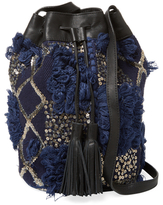 Antik Batik Moro Embroidered Bucket Bag
