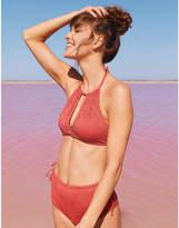 aerie Eyelet Crop Bikini Top