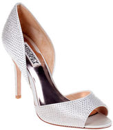 Badgley Mischka Mitzi Peep Toe D'Orsay Shoe