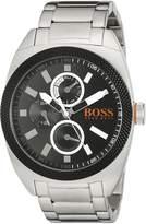 BOSS ORANGE Men's 1513246 LONDON Analog Display Japanese Quartz Silver Watch