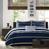 Bed Bath & Beyond Mizone Ashton Duvet Cover Set in Blue