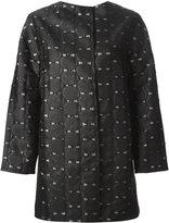 Tsumori Chisato emoji applique coat